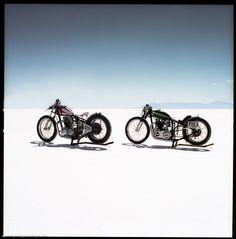 Bonneville Salt Flats Motorcycles