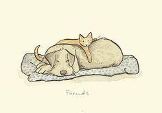 Friends par Anita Jeram
