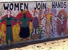 women join hands