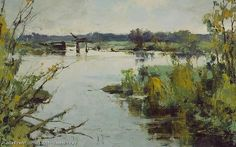 "Povrakulka - oil, canvas, 11.8"" x 17.7"", Vasendin Yury"