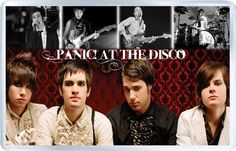Panic At The Disco - Plastic Fridge Magnet B