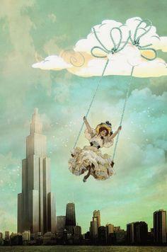hogret.deviantart.com   Falling Into the Sky