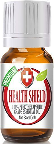Best Health Shield (Compare to Thieves Oil by Young Living, Four Thieves by Eden's Garden) 100% Pure, Therapeutic Grade Essential Oil Blend - 10ml * Be sure to check it out. Amazon Affiliate Program's Ads.