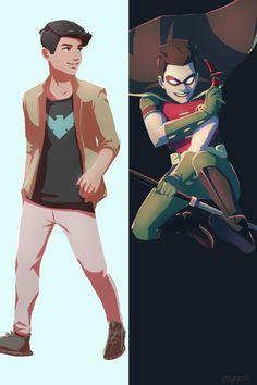 Robin/Nightwing  <3