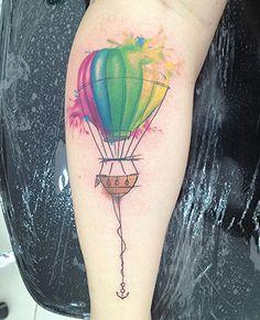 ~Watercolor Balloon~