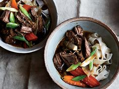 Find the recipe for Thai Beef Stew with Lemongrass and Noodles and other noodle recipes at Epicurious.com