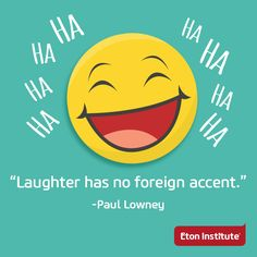 Laughter is contagious. Spread it out! #HappyLaughterDay