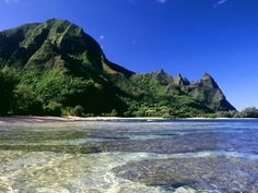 "Most Beautiful Places On Earth: Kauai ""Blockbuster thriller Jurassic Park film spot and oldest of the main Hawaiian Islands"""