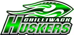 Chilliwack Huskers (Chilliwack, British Columbia) Exhibition Stadium / British Columbia Football Conference #ChilliwackHuskers #ChilliwackBritishColumbia #CJFL #Canada (L14416)