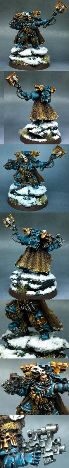 Gamesday, Non-Metallic Metal, Rune Priest, Snow, Space Marines, Space Wolves, Warhammer 40,000, Warhammer Fantasy, Wolf Priest - Priest - Gallery - DakkaDakka | You better boost before you post.