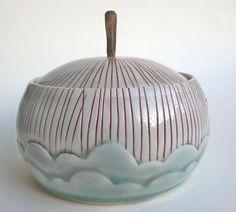 Katie Marks  Cone 10 porcelain via Etsy