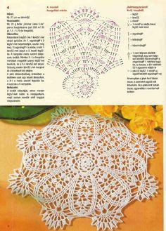Kira scheme crochet: Scheme crochet no. Crochet Dollies, Crochet Doily Patterns, Crochet Diagram, Thread Crochet, Crochet Scarves, Crochet Motif, Crochet Yarn, Chrochet, Doilies