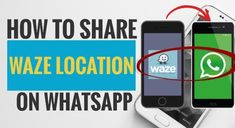 Here we are going to show you the step-by-step of how you can share any location with your friends or families using Waze and WhatsApp. Dot Icon, Gps Map, Give Directions, Instant Messaging, Finding Yourself, Messages, Families, Friends, Amigos