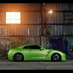 Mean Nissan GT-R