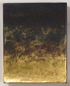 Tempera and gold leaf by Japanese artist Sei Arimori.
