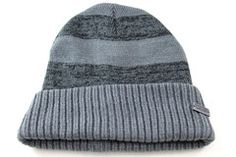 271b7c0d7c5 Levis Jean Cuff Ribbed Men s Women s Gray Heavy Stripes Winter Beanie Hat -  See more
