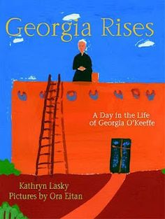 georgia o'keeffe - book for teaching procedural text reading/writing with biography and art.