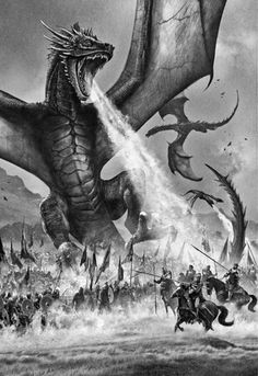 Hoy os traemos algo muy especial, unas de las mejores ilustraciones de la edición ilustrada de 'Juego de Tronos', el primer libro de la saga 'Canción de Hielo y fuego' de George R. R. Martin, el cual este año cumple su 20º aniversario. Tenéis la recopilación de ilustraciones tanto a color como en blanco y negro en el blog de El Caballero del Árbol...
