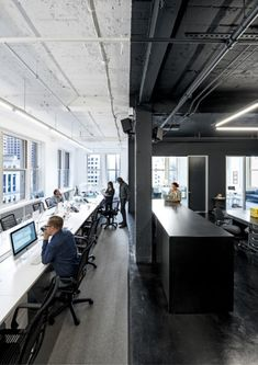 Office Interior Design Ideas Hidden Doors is entirely important for your home. Whether you pick the Office Interior Design Ideas Billy Bookcases or Home Office Design Modern, you will make the best Modern Home Office Design for your own life. Open Office, Look Office, Cool Office Space, Office Workspace, Office Decor, Office Spaces, Office Cubicles, Office Bookshelves, Desk Space