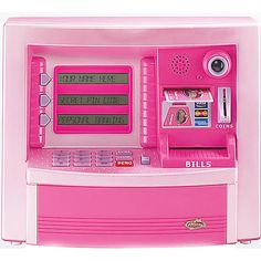 Zillionz Deluxe ATM in pink.