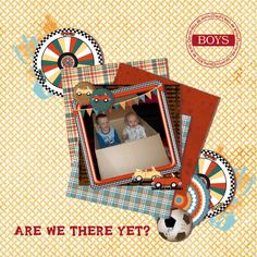 Country Liv's Graphics - Are we there yet - ScrapBird Gallery