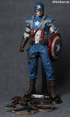 Captain America: Captain America - Deluxe Figure.  Need this to continue the Avenger collection.