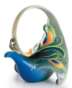 Franz porcelain - peacock teapot    http://vijaytamil.org/2012/10/uravugal-thodarkathai-18-10-12-uravugal-thodarkathai-serial-online-18-10-12-vijay-tv-uravugal-thodarkathai-18-10-12-watch-online-uravugal-thodarkathai-ser-today-18-10-12-uravugal-thodarkathai-18th/