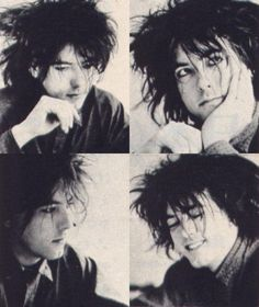 Robert Smith- I am noticing that all the slightly twisted people are INFP...