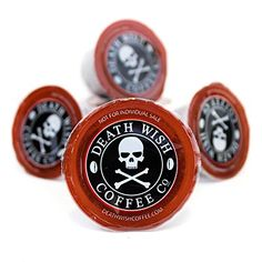 Death Wish Coffee Single Serve Capsules for Keurig K-Cup Brewers, 10 Count : Coffee K Cups : Grocery & Gourmet Food Pod Coffee Makers, Coffee Pods, Coffee Beans, Coffee Lovers, Coffee Company, Caribou Coffee, Premium Coffee, Single Serve Coffee, K Cups