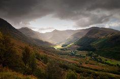 View from Ben Nevis - Scotland