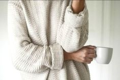 oversized sweaters, every girl should have those.