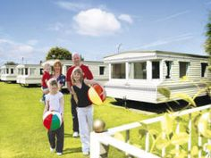Privately owned caravans for hire at Park Resorts Southview Leisure Park in Skegness.