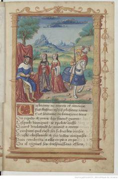"Scene from ""Recueil"", 1500-1515; Bibliothèque de l'Arsenal, Ms-5116 reserve, f.2"