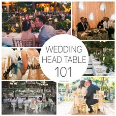 On the blog today - Wedding Head Table Arrangements 101 - Find out who should sit at your head table and what arrangements fits you best. http://www.thewrighthouse.com/new-blog-1/