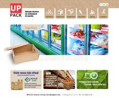 Site em WordPress - Uppack - www,uppack.com.br