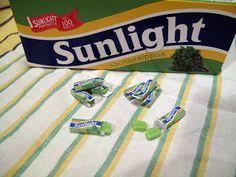 Sunlight soap packet tutorial at Saaran Nukkekoti - Saara's Dollhouse: helmikuu 2013