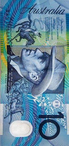 australia Currency designed by Max Robinson Man From Snowy River, Teaching Money, Money On My Mind, Perth, Brisbane, Melbourne, Notes Design, Design Reference, Famous Poets