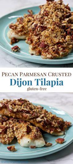 Pecan Parmesan Crust