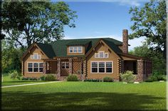 The Morris from Southland Log Homes