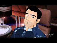 Wake Me - Kaidan Alenko - Mass Effect 3 animated version! - YouTube
