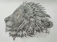 The Native Lion by LarsLunsing
