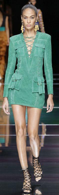 Balmain Collection Spring 2016 Ready-to-Wear