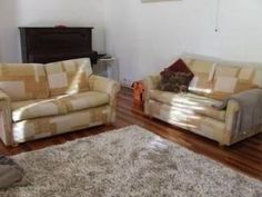 2 x 2 sofa lounges in really good condition. Very little wear an not used much. Mustard colourings. Silver Sands area Mandurah.