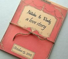 storybook wedding invites | Wedding invitation storybook suite, includes 3 info cards, twine, Set ...