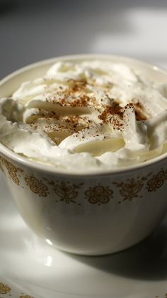 Nothing goes better with crisp Fall air than a warm cup of pumpkin spice latte.