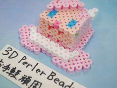 2017_1103_150611p1170712 3d Perler Bead, Perler Beads, Paper, Desserts, Projects, Tailgate Desserts, Postres, Deserts, Dessert