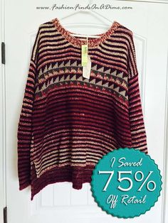 Mystree Striped Pullover Sweater - November Find #1