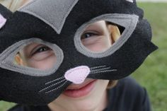 handmade costumes cat mask tutorial || imagine gnats