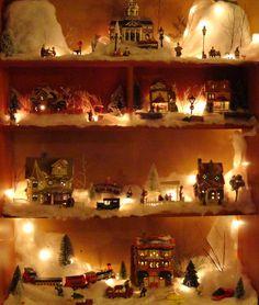 christma villag, christmas villages, merri christma