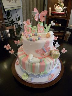Baby shower cakes and deserts on pinterest baby shower cakes